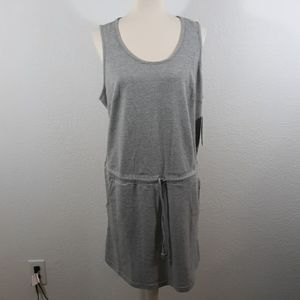 Harmony and Balance Gray Drawstring Dress sz 1X